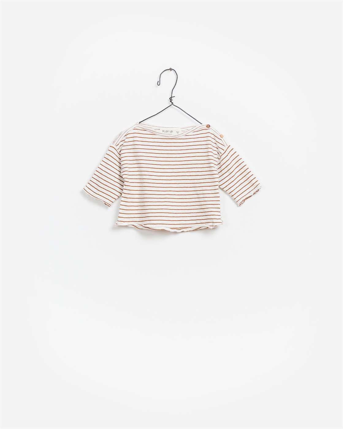 BeeBoo|BeeBoo PlayUp vêtements bébé baby clothes T Shirt LS Striped coton lin cotton linen