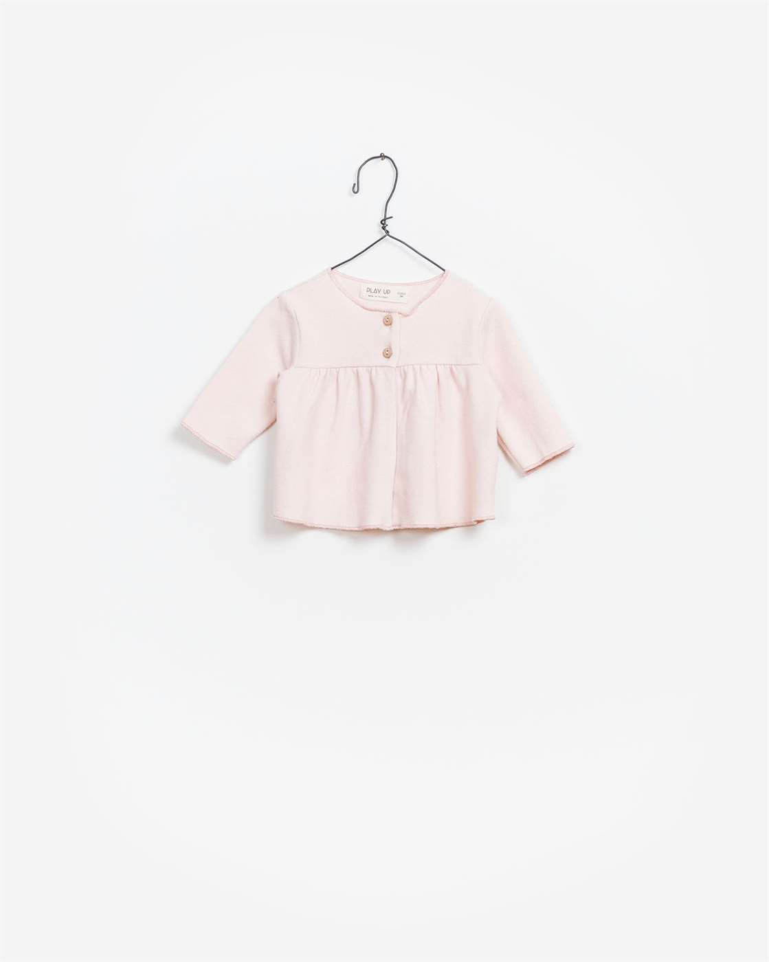 BeeBoo|BeeBoo PlayUp vêtements bébé baby clothes blouse interlock rose pink