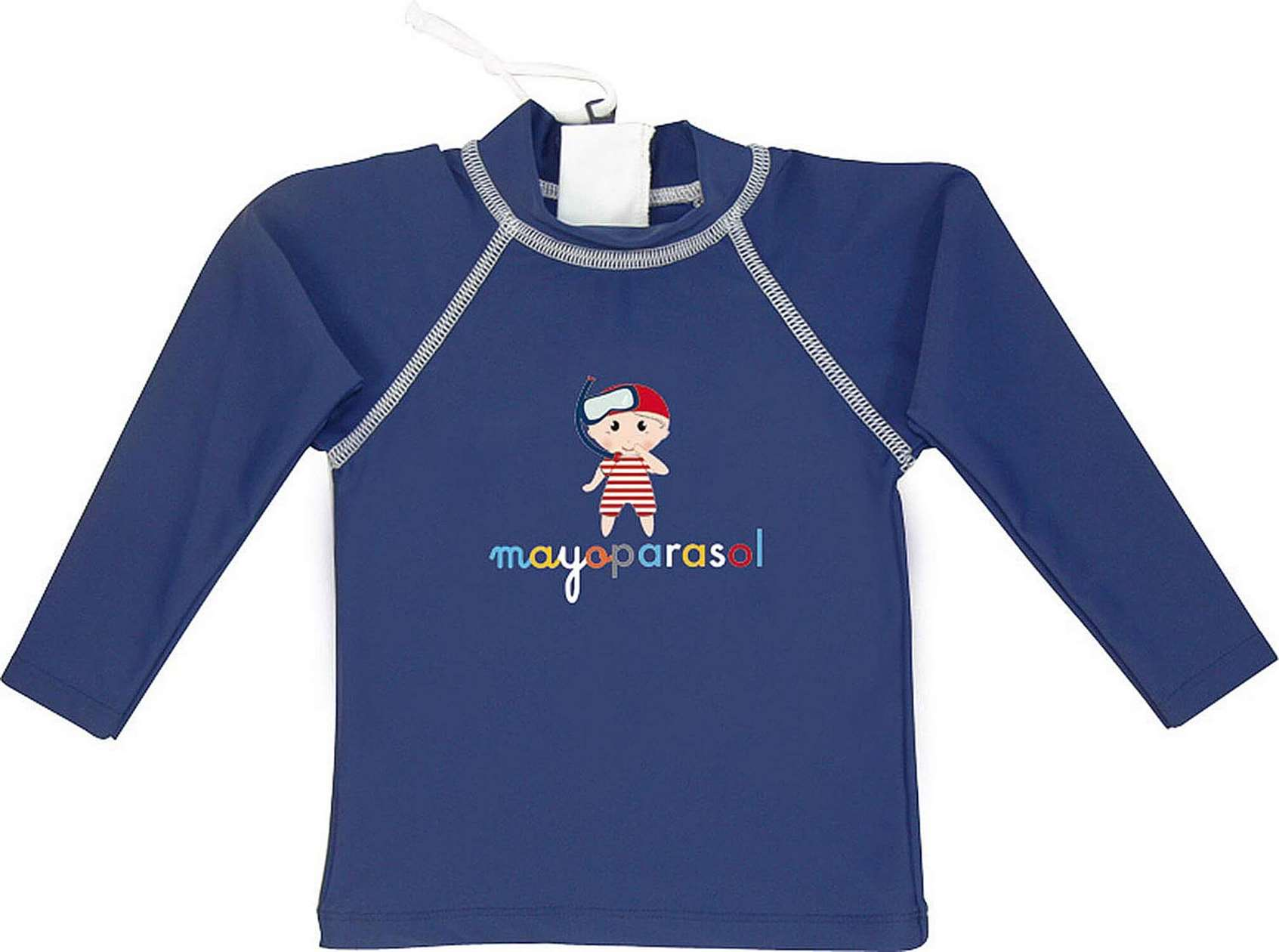 BeeBoo|BeeBoo Mayoparasol T Shirt Pirate anti uv bleu