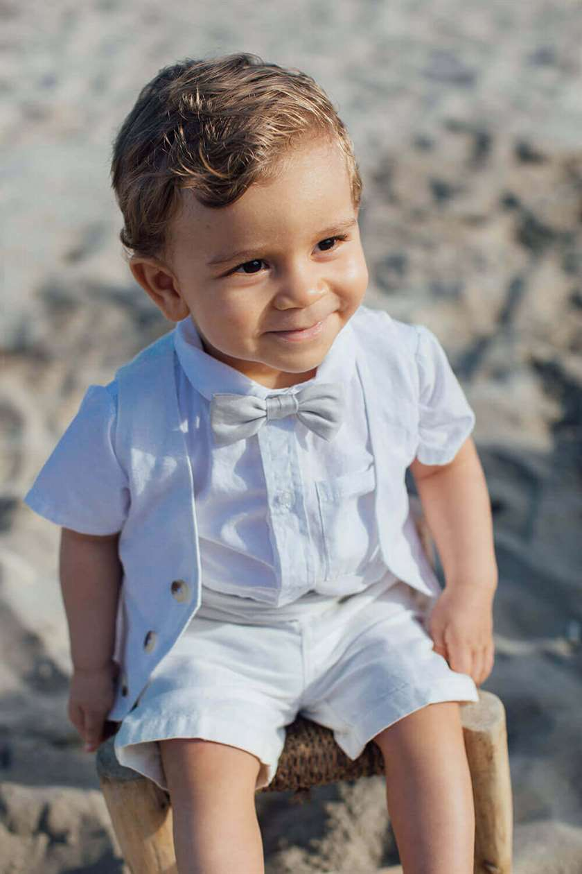 BeeBoo|BeeBoo Les petits Inclassables Chemise Marius blanche