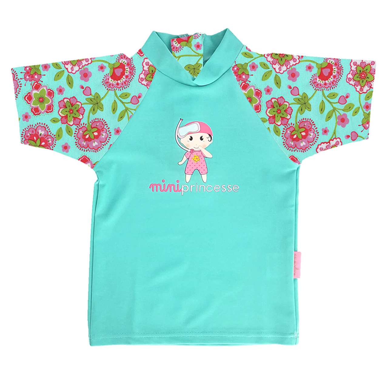 BeeBoo|BeeBoo Mayoparasol T Shirt Mini Princess anti uv vert